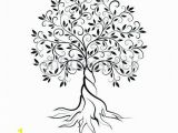 Tree with Roots Coloring Page Tree with Roots Coloring Page 7 Best Trees Life and