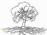 Tree with Roots Coloring Page Tree with Roots Coloring Page Деревья Pinterest