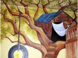 Treehouse Mural 56 Best Preschool Images