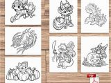 Trick or Treat Coloring Pages Printable Color Pack Trick or Treat Kids Adult Coloring Pages