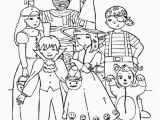 Trick or Treat Coloring Pages Printable Trick or Treat Colouring Page