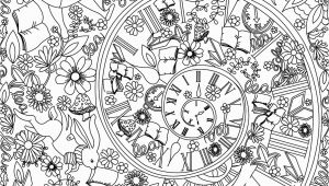 Trippy Alice In Wonderland Coloring Pages Trippy Alice In Wonderland Coloring Pages