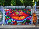 Trippy Murals Karma Sirikogar Bajaj Street Art Bangkok