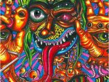 Trippy Murals Psy Doodle צבעונילי In 2019 Pinterest