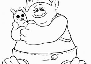 Trolls Smidge Coloring Page Free Troll Colouring Pages Trolls and Fairies