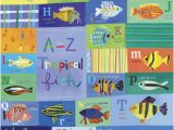 Tropical Fish Wall Mural A Z Tropical Fish Kids Mural by Oopsy Daisy