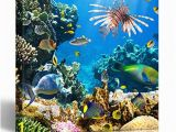 Tropical Fish Wall Mural Amazon Emvency Painting Canvas Print Square 20×20