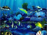Tropical Fish Wall Mural Hawaii Wall Art Tropical Fish Paintings Living Reef