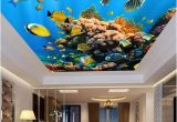 Tropical Fish Wall Mural Marine Life Ceiling Wallpaper Tropical Fish Wall Mural Home
