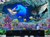 Tropical Fish Wall Mural Us $14 91 Off 3d Wallpaper Custom Photo Non Woven Underwater World Cave Sharks 3d Wall Murals Wallpaper for Walls 3 D Room Decoration Painting In