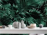 Tropical Leaves Wall Mural Tropical Palm Leaf Jungle 12 Wall Mural Wallpaper Patterns