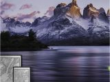 Tropical Mural Ideas Cuernos Del Paine Wall Mural Wall Murals