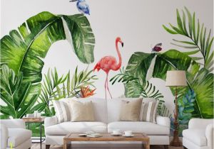 Tropical Murals Paintings Beibehang Custom Interiors Painting Papel De Parede 3d Wallpaper