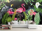 Tropical Murals Paintings Beibehang Custom Wallpaper Murals Hand Drawn Tropical Rainforest