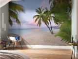 "Tropical Paradise Wall Mural Wolfeboro Paradise Morning 12 08 X 98"" Wall Mural"
