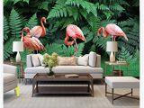 Tropical Rainforest Wall Mural 3d Wallpaper Mural Hand Painted Tropical Rainforest Plant