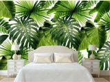 Tropical Rainforest Wall Mural Custom Wall Mural Tropical Rain forest Wallpaper Fresh Green