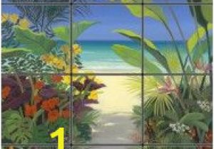 Tropical Tile Murals 39 Best Palm Trees On Beach Images