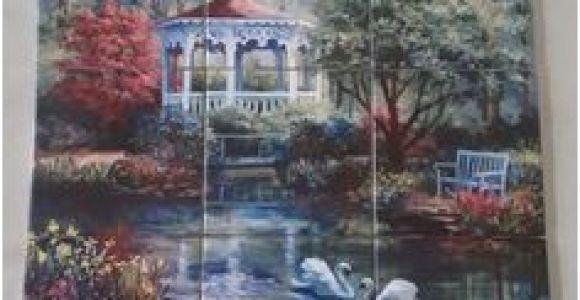 Tropical Tile Murals 84 Best Landscapes Tile Murals Images In 2019