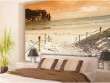 Tropical Window Wall Mural Vlies Poster Wandbild Tapete Fototapete Wasser Meer Strand