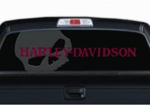 Truck Window Murals Truck Window Decals Harley Davidson