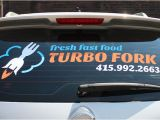 Truck Window Murals Vinyl Car Decals for Windows