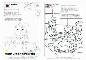 Trust God Coloring Page Boston Celtics Coloring Pages Celtics Basketball Coloring Pages