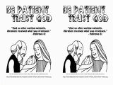 Trust God Coloring Page Simple Kids Coloring Pages Book Interesting Gospel Light Coloring