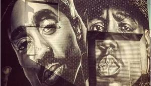 Tupac Wall Mural 2pac & Biggie Street Art In 2019