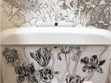 Turn A Photo Into A Wall Mural Artist Turns Bathroom Into Magical Nature Spot Using