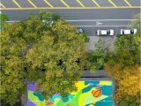 Turn Photo Into Mural Madsteez Turns Basketball Court Into Inspiring Mural Art Il