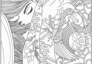 Turn Picture Into Coloring Page Photoshop Wel E to Dover Publications Body Art Tattoo Designs Coloring