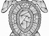 Turtle Coloring Pages for Adults Animal Coloring Pages for Adults Lovely Awesome Advanced Animal