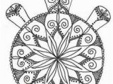 Turtle Mandala Coloring Pages Printable 417 Best Art Coloring Pages & Designs Images On Pinterest