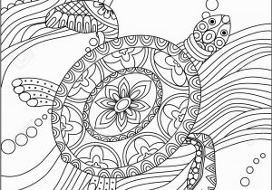 Turtle Mandala Coloring Pages Printable Turtle Coloring Pages for Adults Turtles Coloring Pages Free New Sea