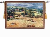 Tuscan Villa Wall Mural 90 125cm World Famous Wall Paintings Tuscan Countryside Antique