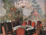 Tuscan Villa Wall Mural Villa La Rose Florence Italy Ca 1979 by Robert Emmett