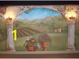 Tuscan Wall Mural Kit 66 Best Italian Mural Elements Images