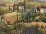 Tuscan Wall Murals for Cheap Morning Glow Tuscany Wallpaper Mural Products