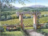 Tuscan Wall Murals for Cheap Tile Murals Landscapes Tuscan Italian Provence French Old