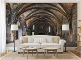 Tuscan Wall Murals Wallpaper Arcs Wall Mural Self Adhesive Peel and Stick 3d Photo