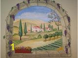 Tuscany Wall Murals Artistic Murals Tuscan Window Mural