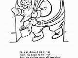 Twas the Night before Christmas Printable Coloring Pages Twas the Night before Christmas Coloring Sheets