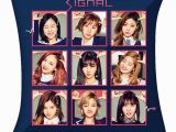 Twice Kpop Coloring Pages Amazon Alldecor Kpop Twice Signal Throw Pillow Home