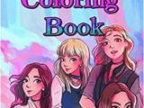 Twice Kpop Coloring Pages Blackpink Coloring Book Blackpink Bts Kpop Jennie Exo