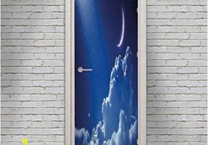 Twin Walls Mural Company Amazon Night Sky Door Wall Mural Wallpaper Stickers