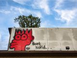 Twin Walls Mural Company Bart Simpson is Taking Over Wall Space In Winston Salem