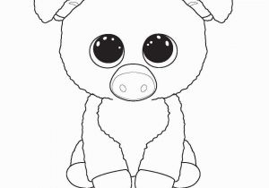 Ty Beanie Babies Coloring Pages Cow Coloring Page Print Me Corky Ty Beanie Boo Beanie Boos Coloring
