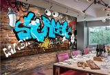 Types Of Murals On Walls Beibehang Wallpaper for Walls 3 D Custom Mural Wallpaper Graffiti
