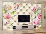 Types Of Murals On Walls Video Wall Seamless Mural Sitting Room Tv Setting Wall Paper